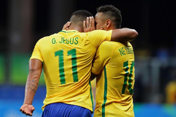 Gabriel Jesus Manchester City Palmeiras Seleção Copa do Mundo