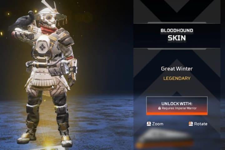 Great Winter skin