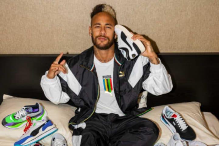 Neymar is a PUMA athlete