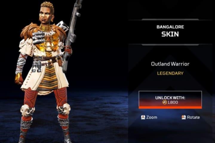 Outland Warrior skin
