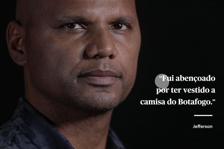 Jefferson carta The Players Tribune Botafogo