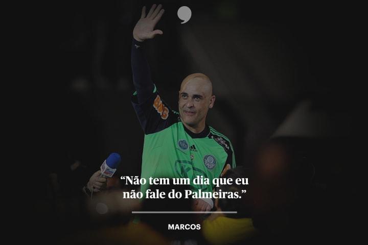 Marcos goleiro Palmeiras The Players Tribune