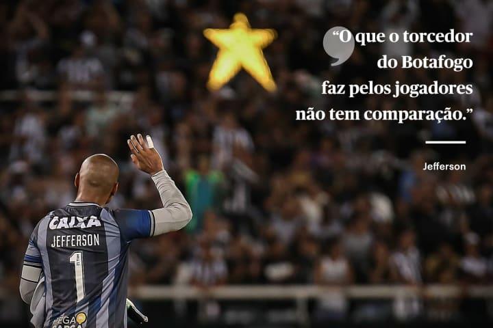 Jefferson Botafogo torcida