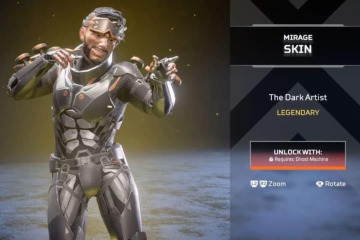 Dark Artist skin