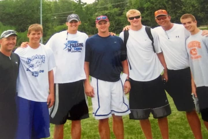 Matt Turner, Luke Turner, Luke McCown, Randy McCown, Josh McCown, Jeff Traylor, and Jordan Traylor.