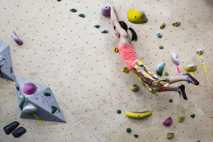 I'm a 15 year-old-girl who just happens to climb a lot.