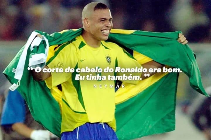 Ronaldo corte cascao