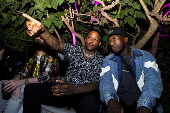 YG and Nate Robinson