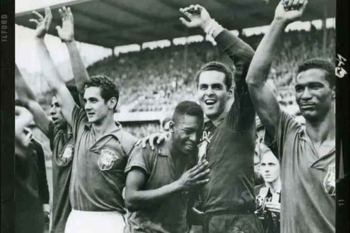 Pelé campeão Copa do Mundo 1958