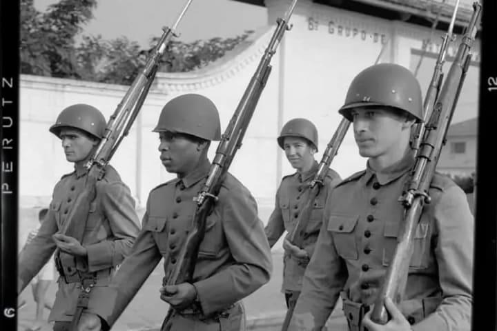 Pelé no exército