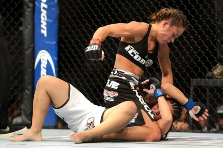 Jessica Andrade Liz Carmouche UFC