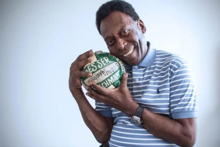 Pelé bola futebol