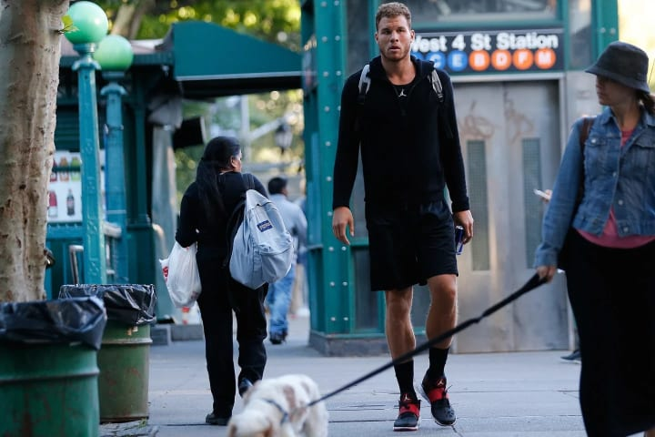 In September, we tagged along with Clippers forward Blake Griffin for offseason training.