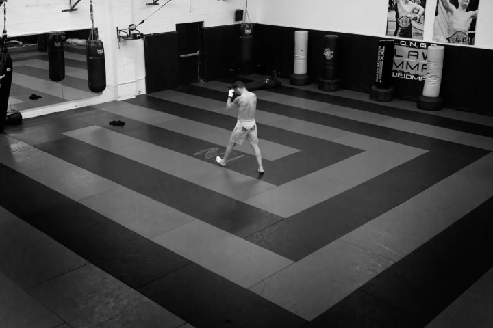 In May, we went inside UFC star Chris Weidman's training for his fight against Vitor Belfort.