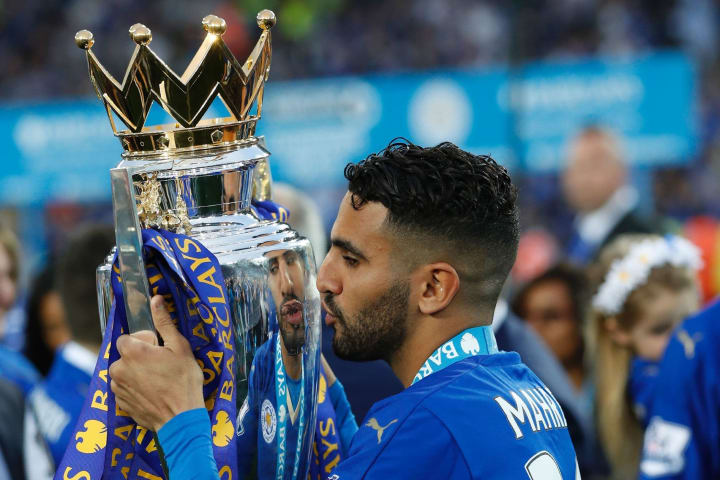 Mahrez's first touch is legendary