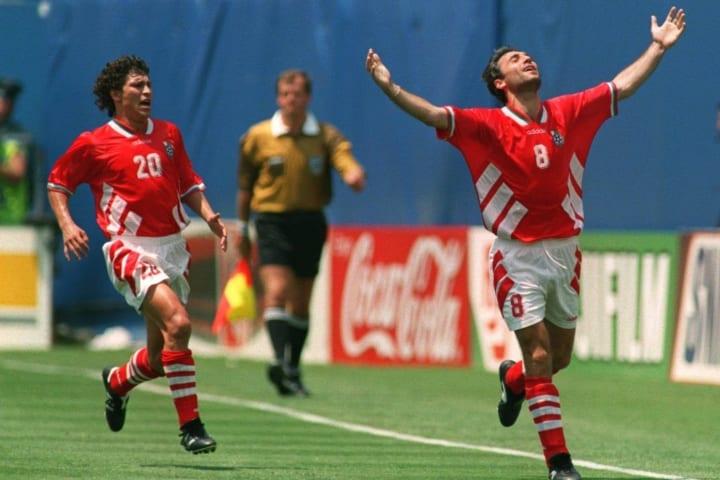 Hristo Stoichkov at the 1994 World Cup