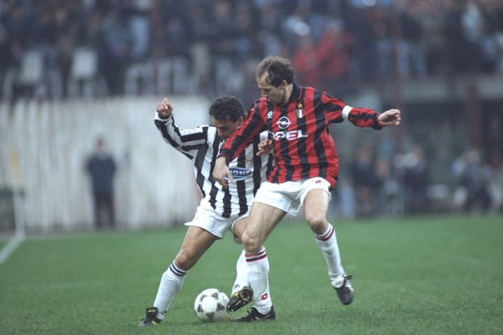 Baresi was the main man during Milan's best years
