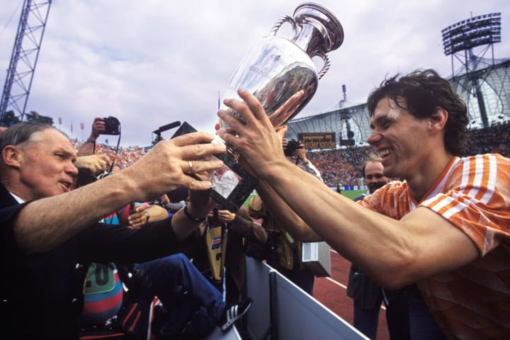 Van Basten scored a wonder goal in the Euro 88 final