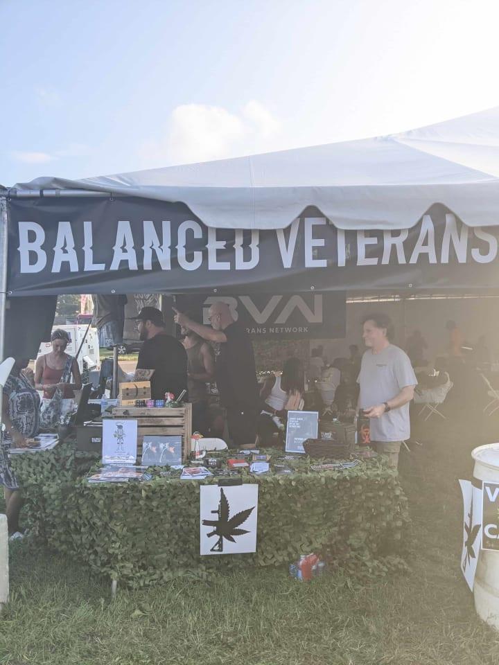 Balanced Veterans Network at National Cannabis Festival