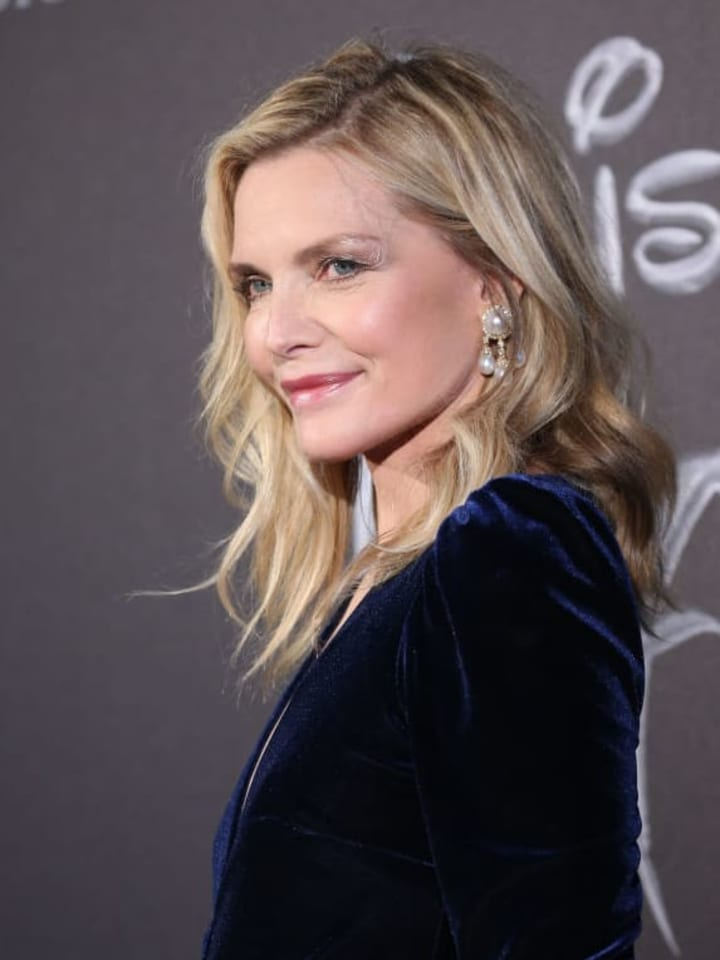 """ROME, ITALY - OCTOBER 07:  Michelle Pfeiffer attends the european premiere of the movie """"Maleficent – Mistress Of Evil"""" at Auditorium della Conciliazione on October 07, 2019 in Rome, Italy. (Photo by Franco Origlia/Getty Images)"""