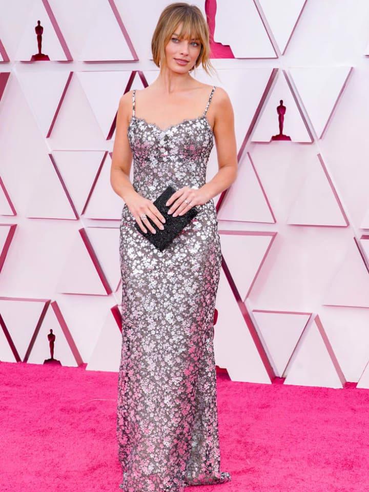 Margot Robbie at 2021 Oscars
