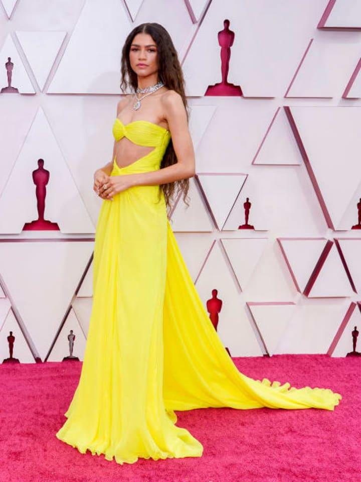 Zendaya at the 93rd Academy Awards Ceremony AKA 'Oscars'