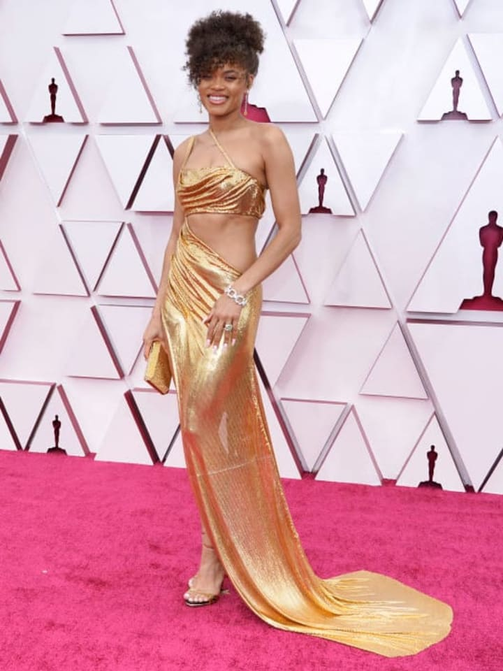 Andra Day at the 2021 Oscars
