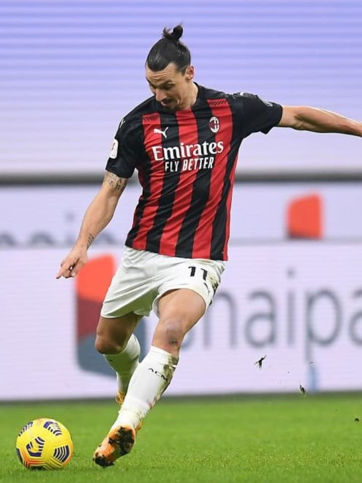 Ibrahimovic returned from a knee injury recently