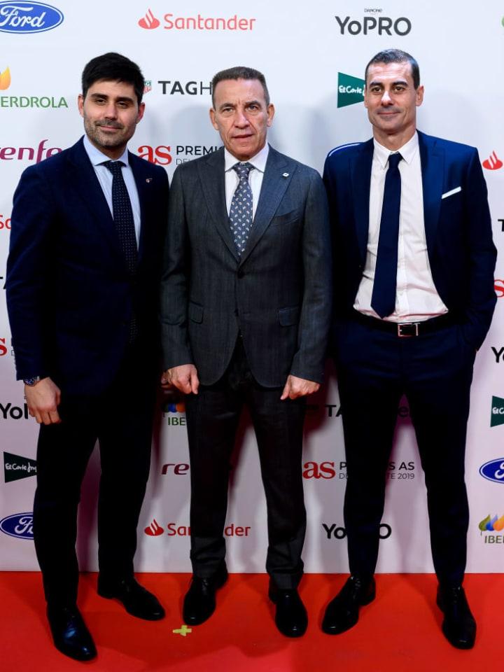 David Aganzo, Paco Buyo, Daniel Sanchez Lara