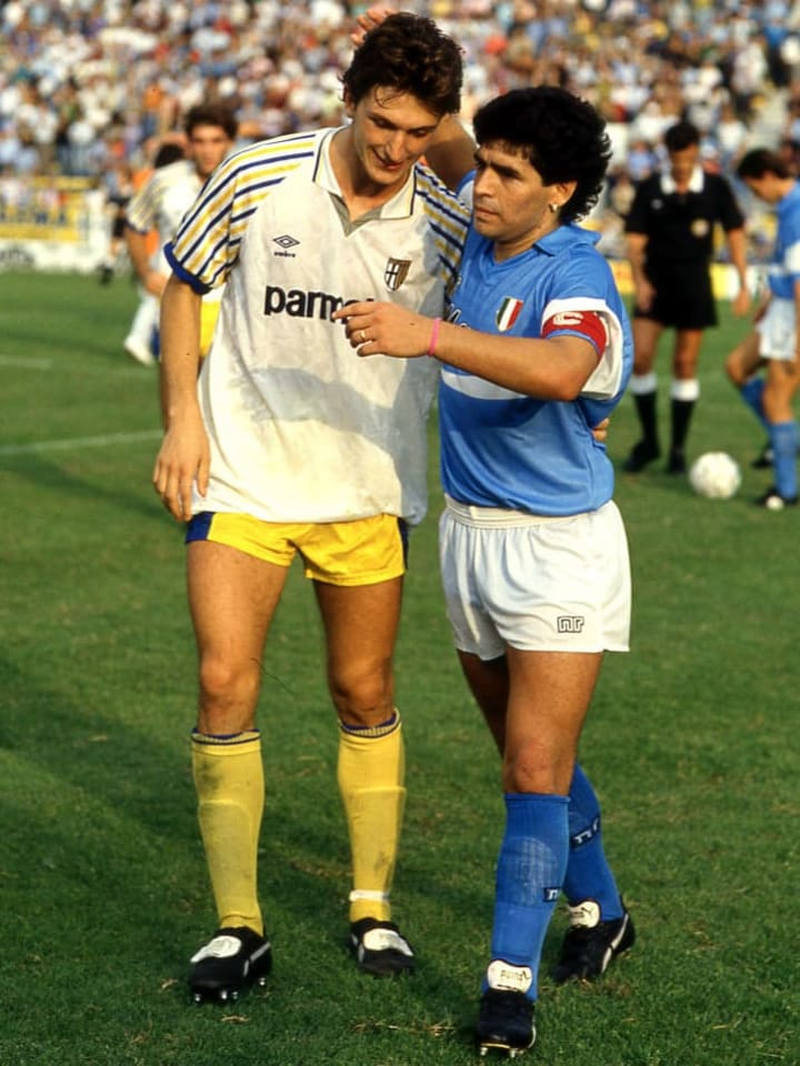 Lorenzo Minotti, Diego Armando Maradona
