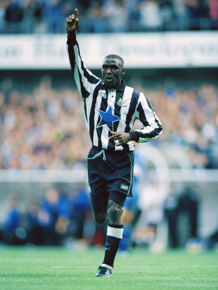 Cole scored 34 Premier League goals in 1993/94 - still a record