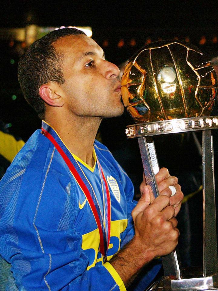 Argentina's Boca Juniors forward Pedro I