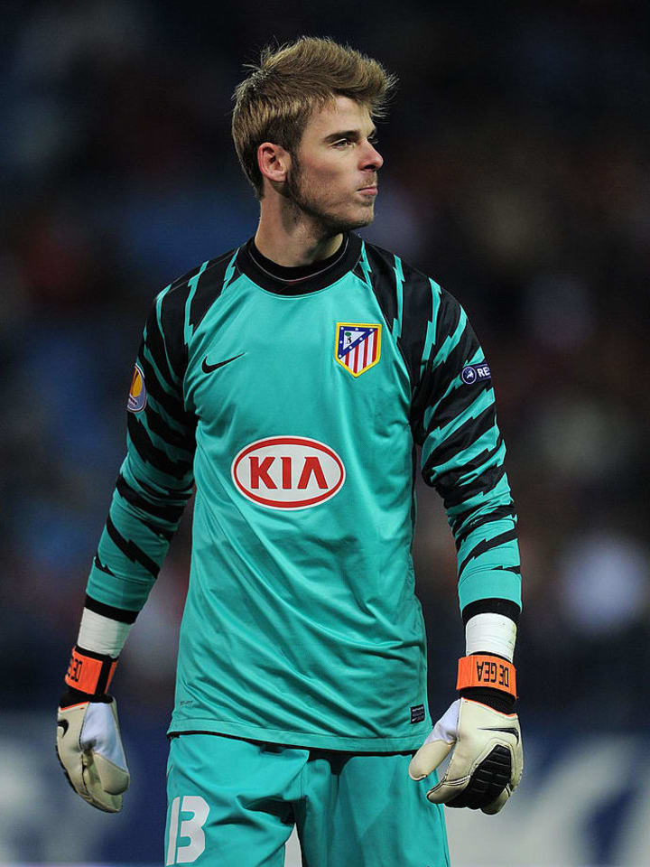De Gea started his career with Atletico Madrid