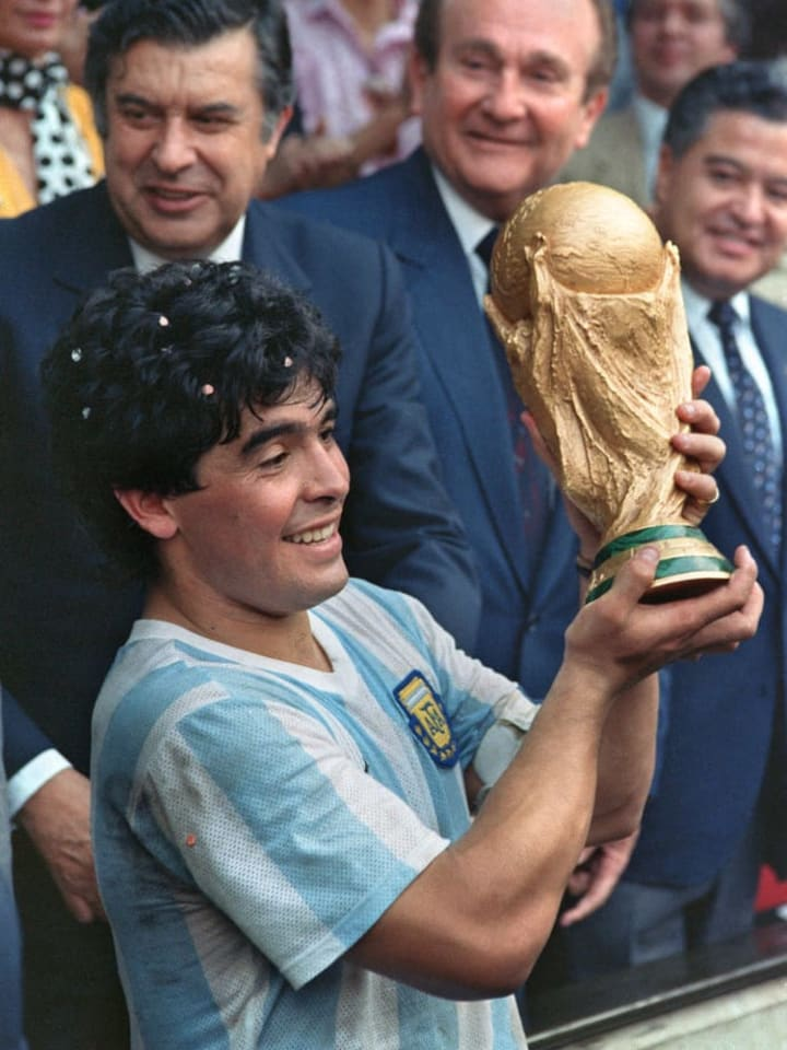 Is Maradona the greatest player of all time?