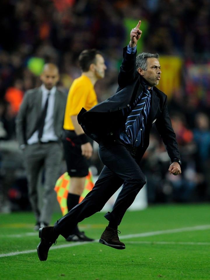 Jose Mourinho, Josep Guardiola