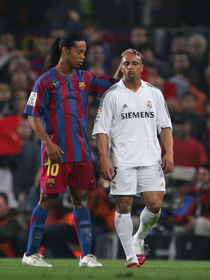 Ronaldinho, Roberto Carlos