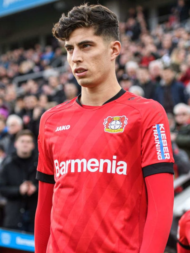Kai Havertz has been attracting interest from some of Europe's top clubs