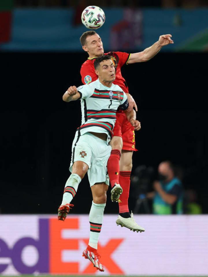 Cristiano Ronaldo, Thomas Vermaelen
