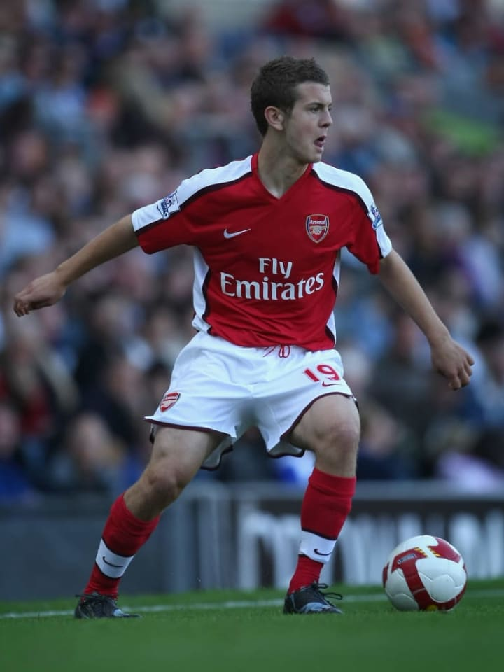Wilshere made his debut in 2008