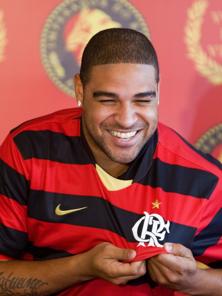 Adriano Flamengo 2009 Inter de Milão Artilheiro Didico