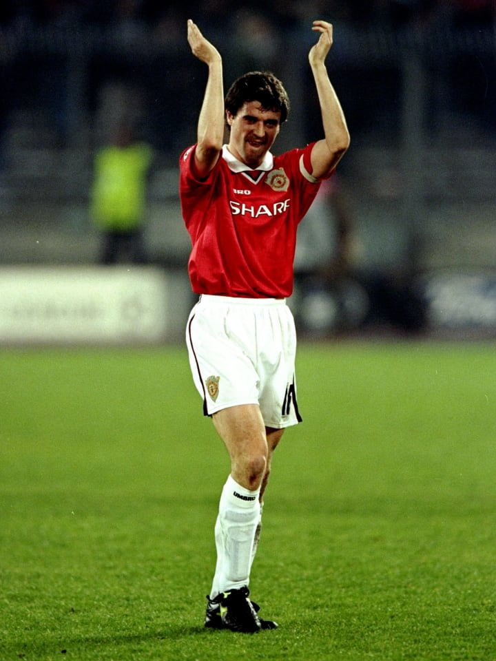 Keane inspired Man Utd to a famous victory over Juventus