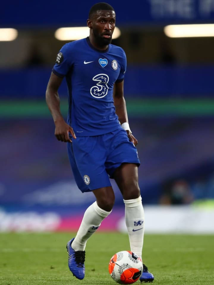 Rudiger is yet to play for Chelsea this season