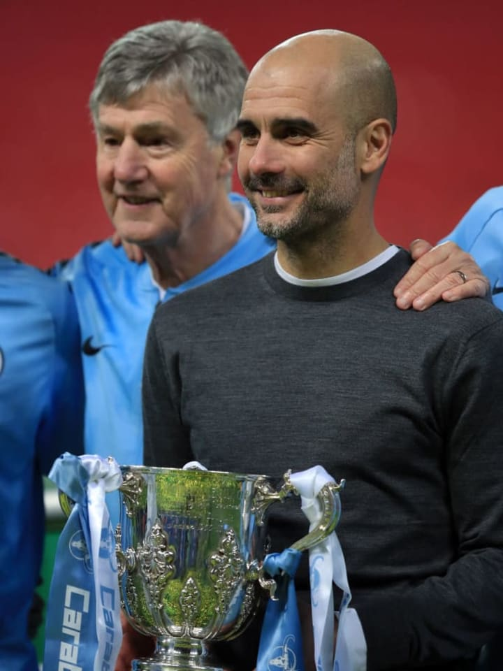 First-team coach Brian Kidd has been helping out Pep Guardiola in recent months.