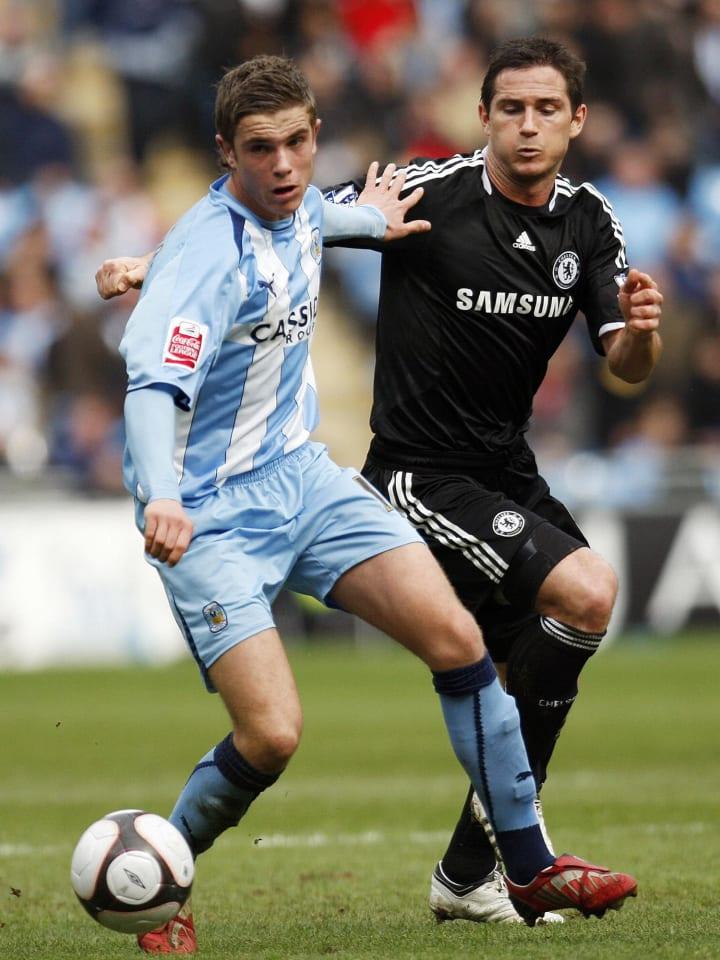 Gelandang Inggris Chelsea Frank Lampa
