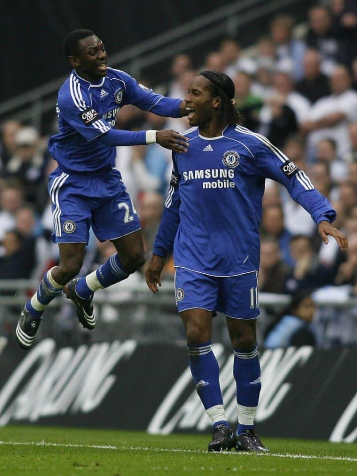 Chelsea's Ivory coast striker Didier Dro