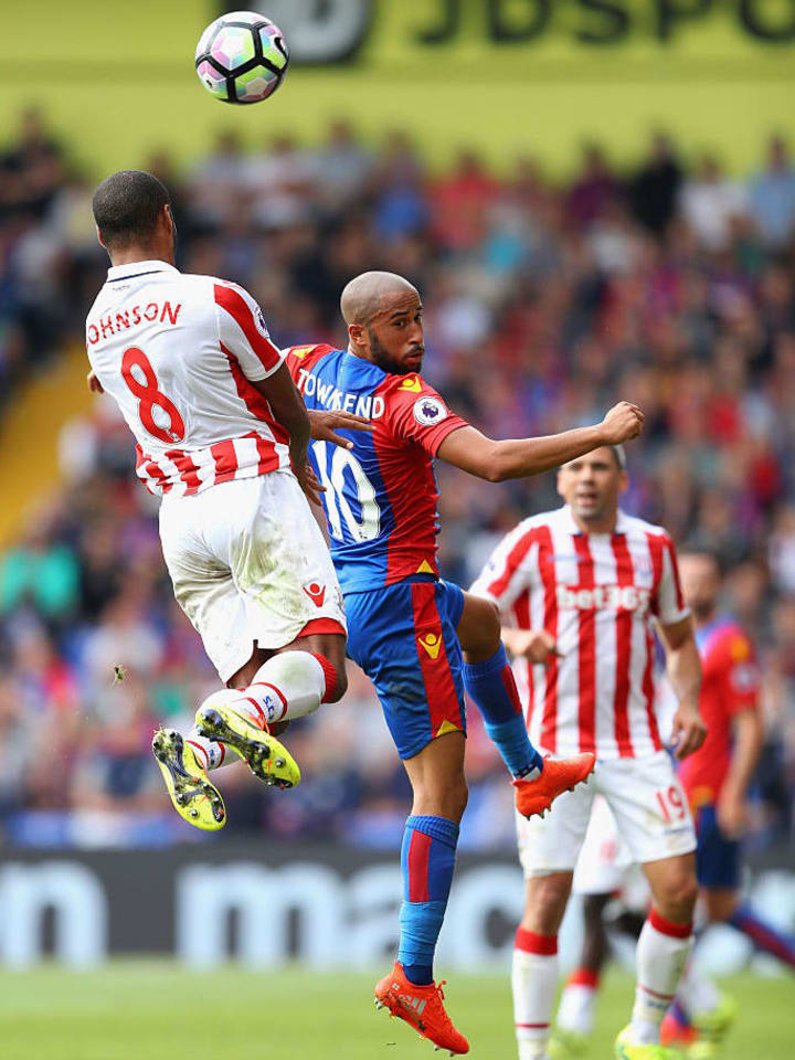 Andros Townsend, Glen Johnson