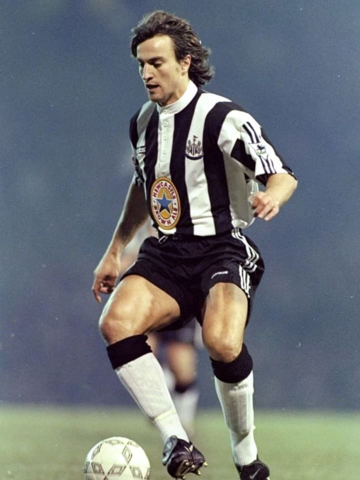David Ginola of Newcastle United