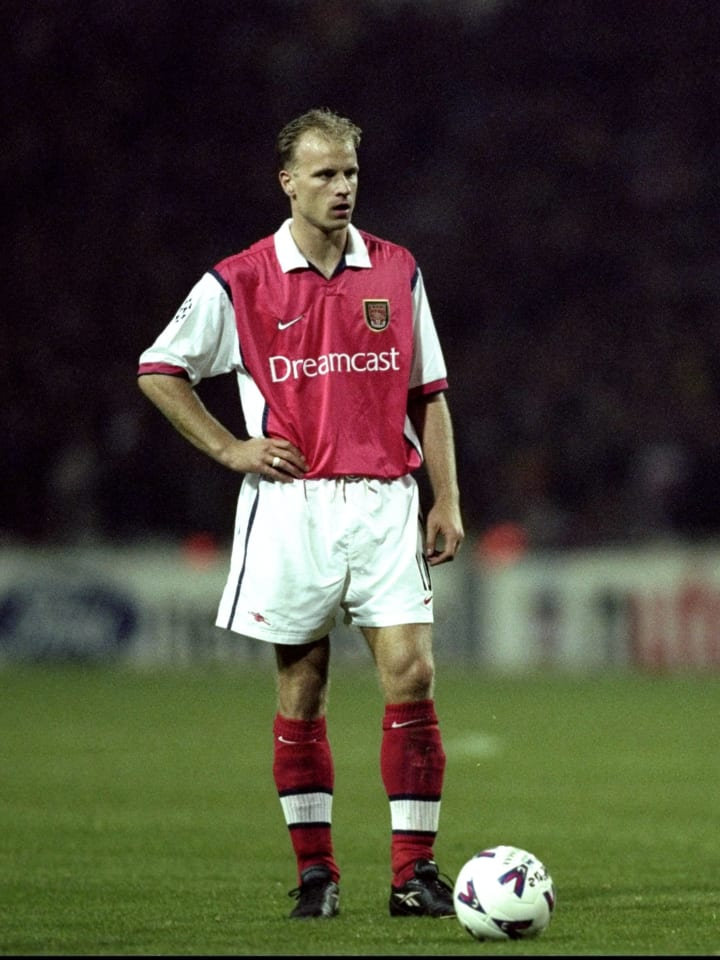 Dennis Bergkamp of Arsenal