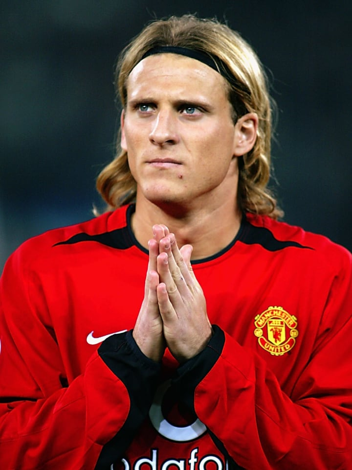 Diego Forlan of Manchester United