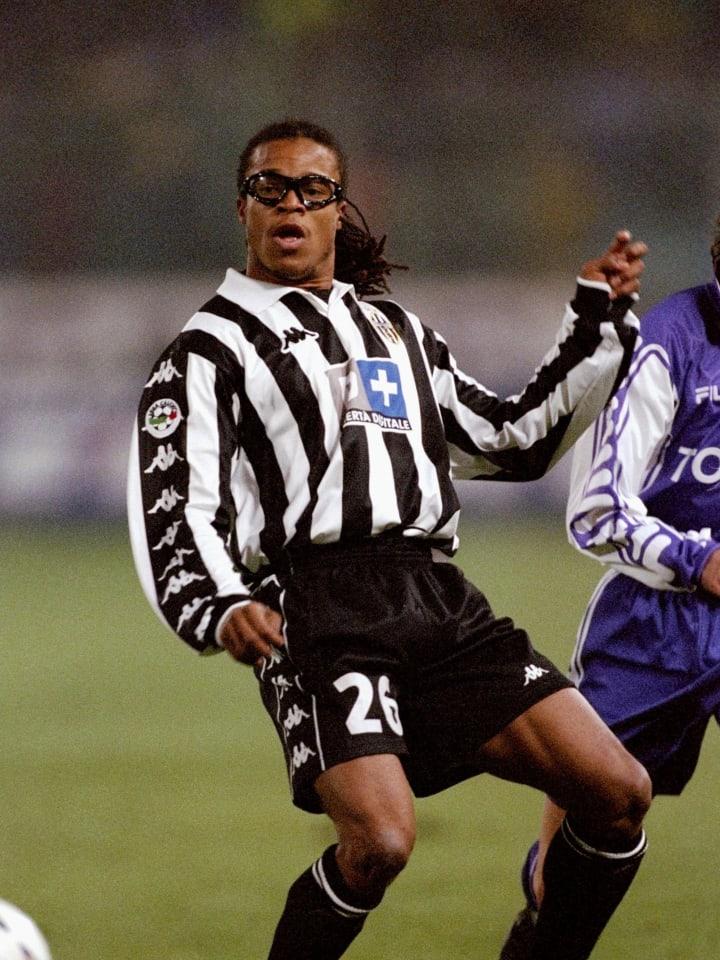 Edgar Davids of Juventus...